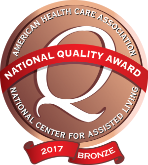 AHCA/NCAL 2017 Bronze - National Quality Award