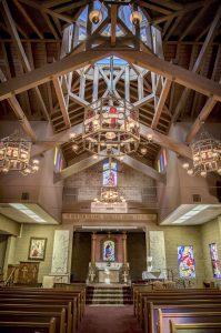 6 inside church