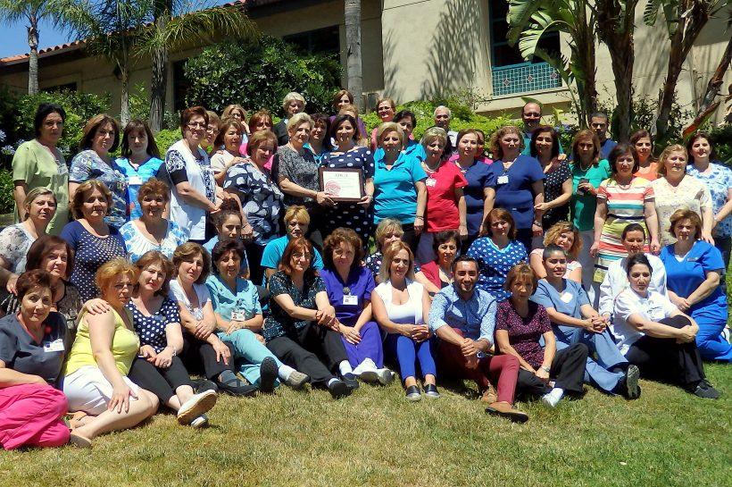 Ararat Nursing Facility staff celebrate Bronze Award achievement